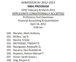 UP MBA Application Experience 2