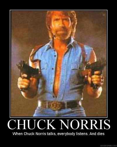Chuck Norris Effect