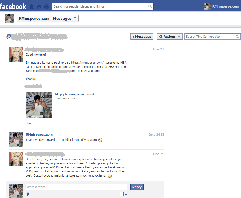 Facebook Chat (1 of 5)