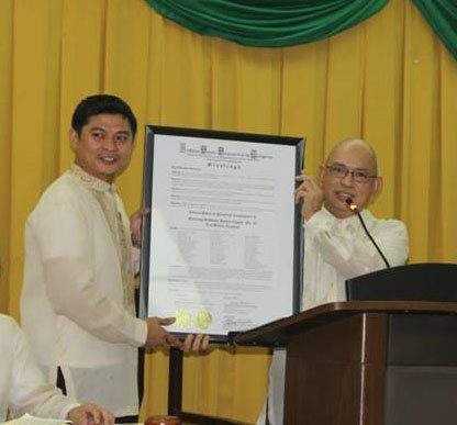 Presentation of Charter