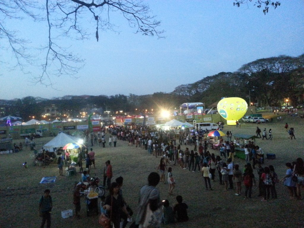 UP Feb Fair in UP Diliman