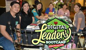 Attendees at Digital Leadership Bootcamp