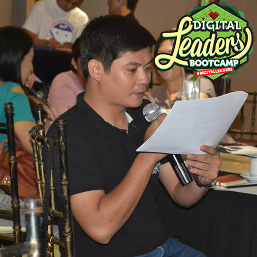 Speaking at Digital Leadership Bootcamp