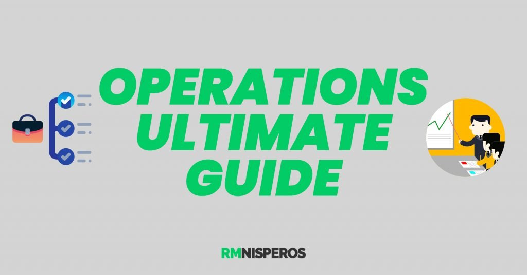 Operations Management Concepts & Techniques 12