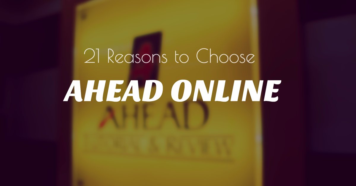 21 reasons to choose AHEAD online tutorials online review UPCAT DCAT ACET