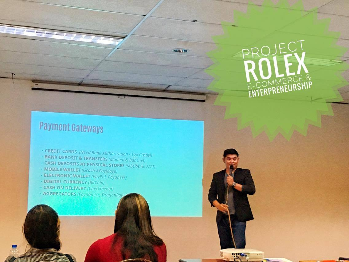 E-Commerce Entrepreneurship Project ROLEx University of Negros Occidental Recoletos